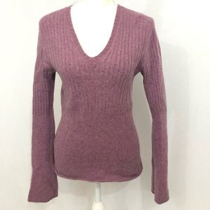 J. Crew sweater small wool purple